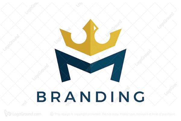 Exclusive Logo 149823, M Crown Logo.