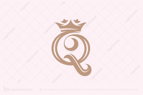Exclusive Logo 185239, Queens Crown Logo.