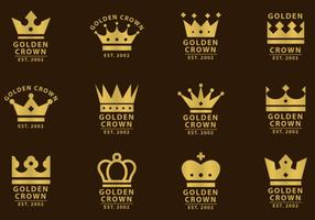 Crown Logo Template vector illustrations.