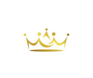 Gold crown Logos.