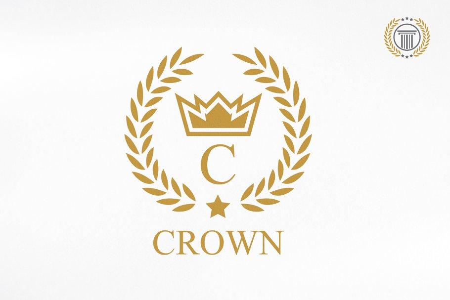 Luxury Crown Logo Design.