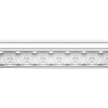 Focal Point 23145 Athenian Leaves Crown Moulding 4 1/8.