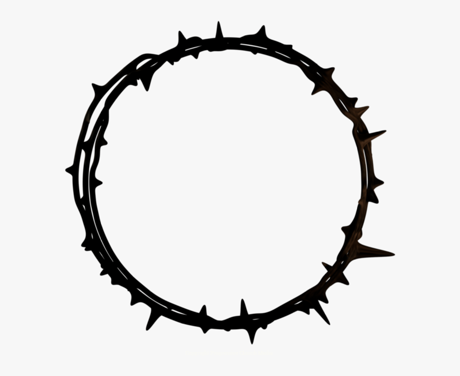 Crown Of Thorns Good Friday Graphics.