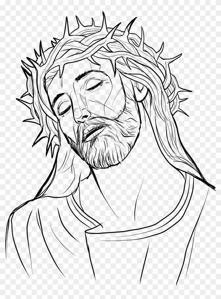 Vector Free Library Crown Of Thorns Illustration Big.