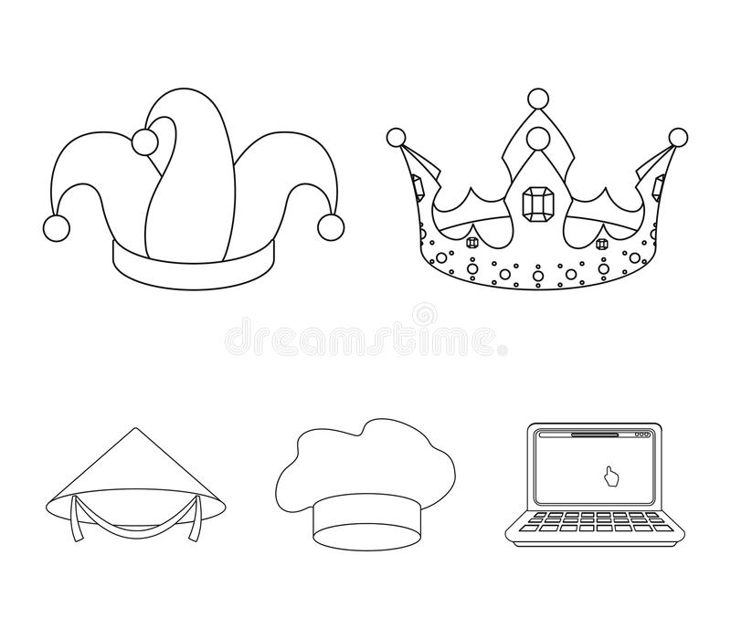 Crown Outline Stock Illustrations.