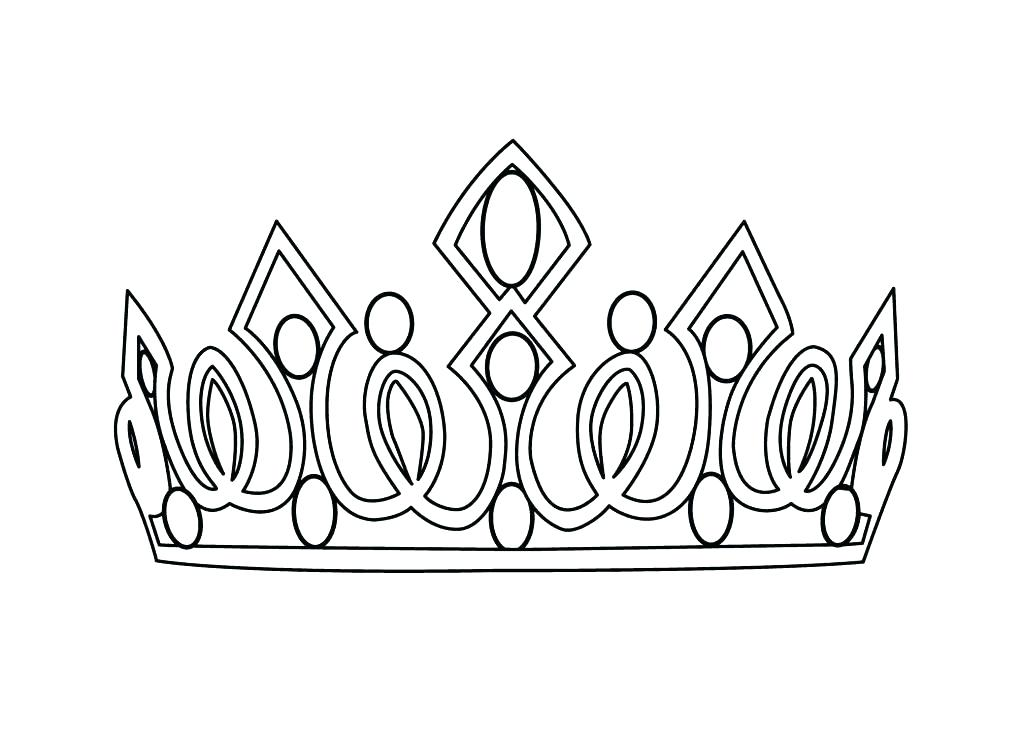 Crown Outline Drawing at PaintingValley.com.