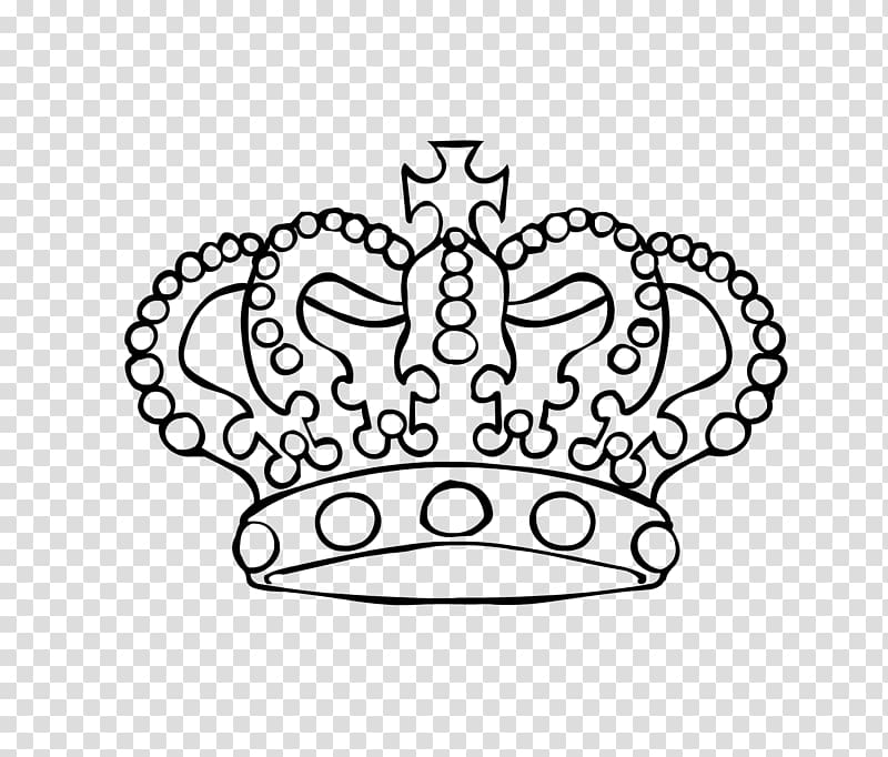 Crown King , Crown Outline transparent background PNG clipart.