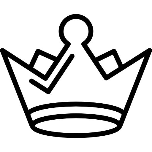 Crown Outline Png Vector, Clipart, PSD.