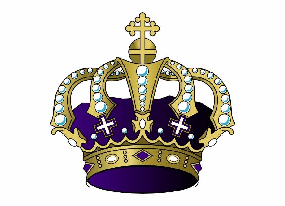 Purple And Gold Crown Png, Transparent Png (3568512 ).