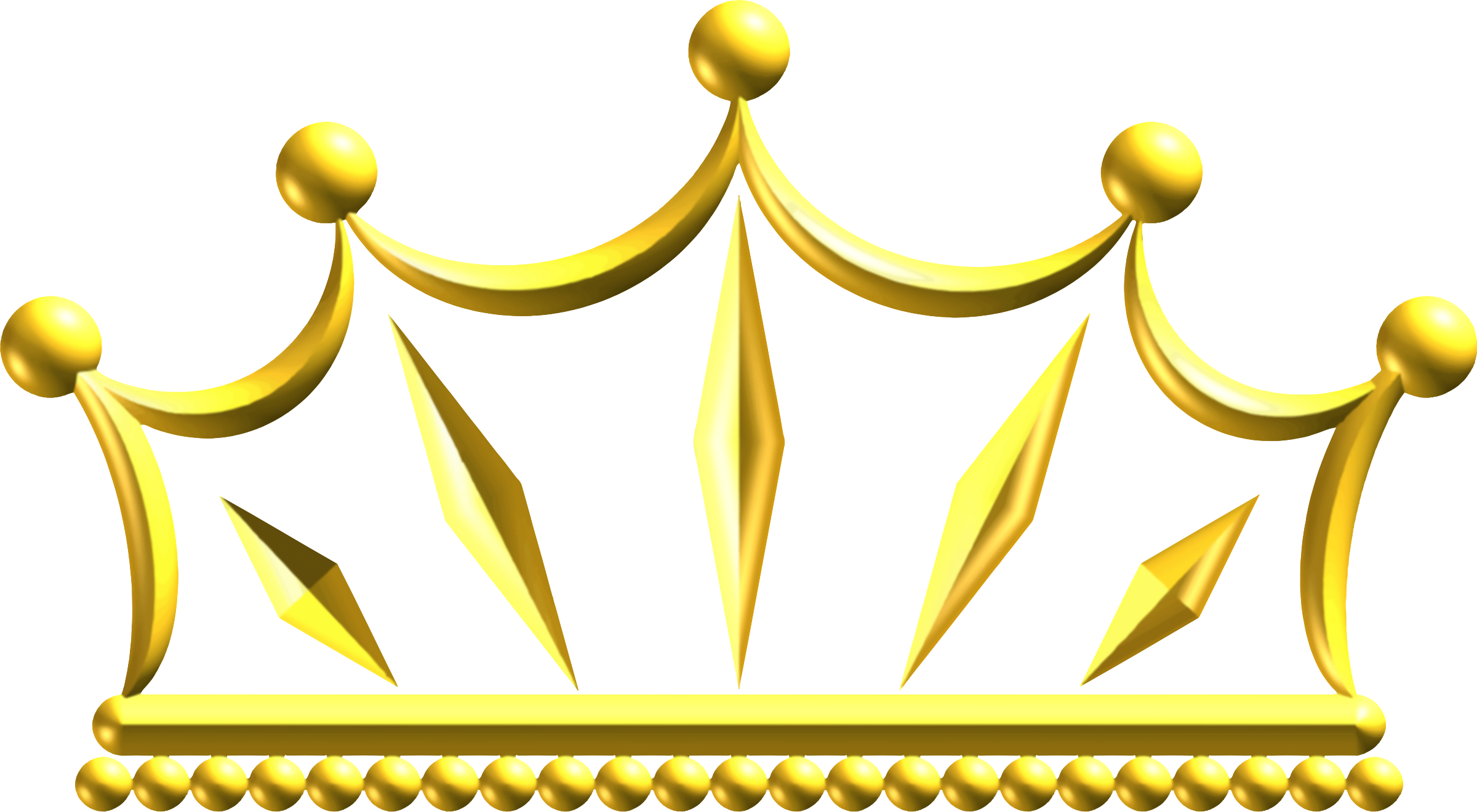 HD Gold Crown Png.