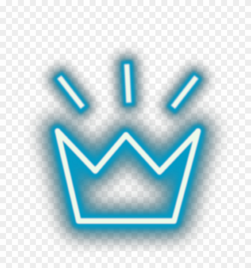 Transparent Neon Crown Png , Png Download.