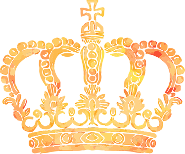 Royal Crown Room Sticker.