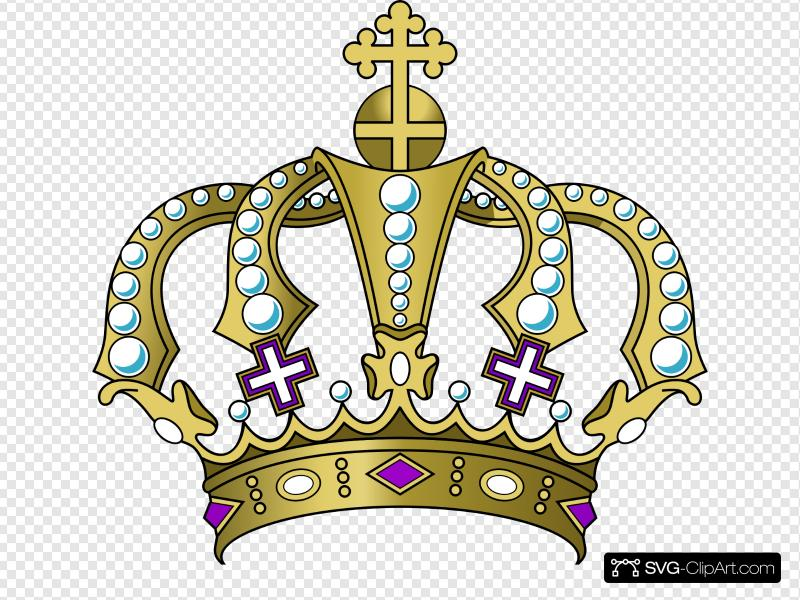 Purple Crown Royal Clip art, Icon and SVG.