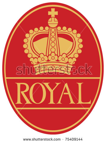 Royal Crown Seal Stock Photos, Royalty.