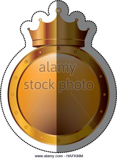 Crown Seal Stamp Icon Royal Stock Photos & Crown Seal Stamp Icon.
