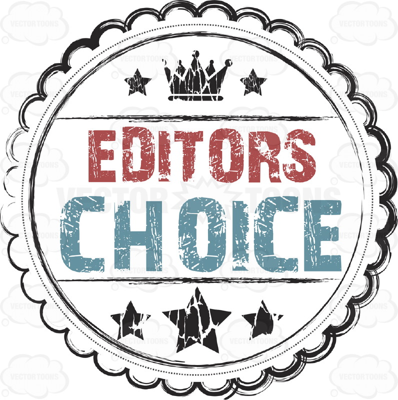 Editor'S Choice Rustic Grunge Seal With Crown And Stars With.