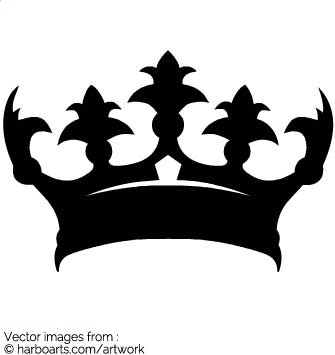 Download : Royal Crown Silhouette.