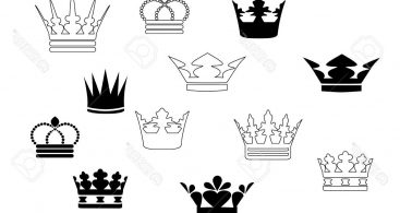 Queen Crown Tattoos Vector Archives.