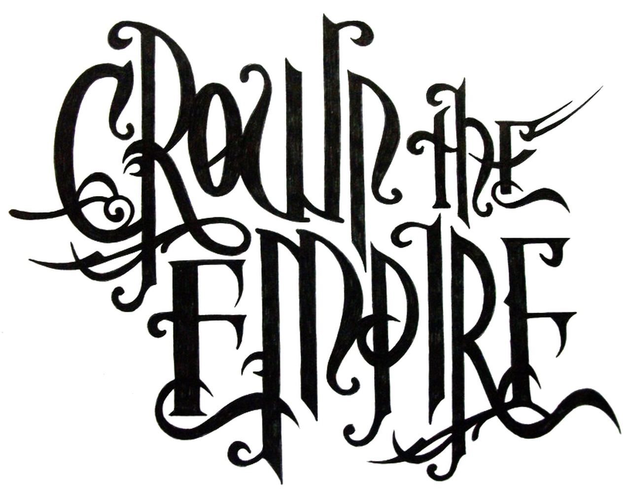 Crown the Empire Band Logo Decal.