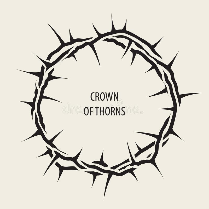 Crown Thorns Stock Illustrations.