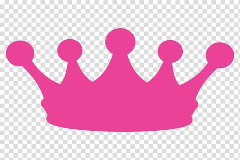 Pink crown illustration, Crown of Queen Elizabeth The Queen.