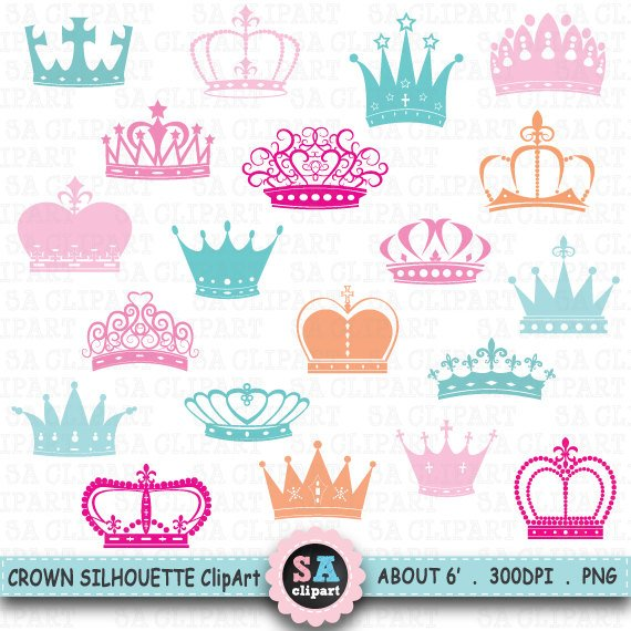 Crown Silhouette ClipArt \