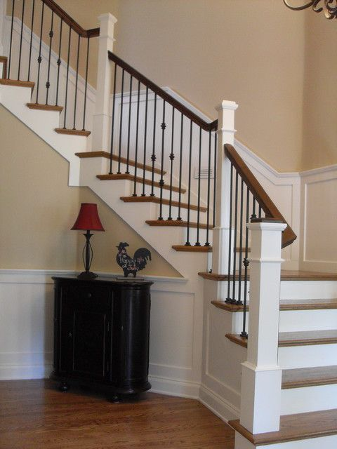 1000+ ideas about Wrought Iron Stair Railing on Pinterest.