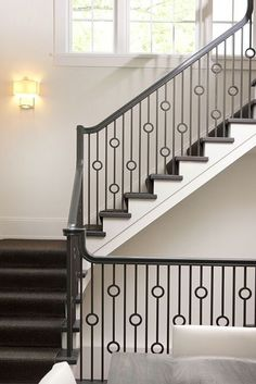 Staircases, Belt and Iron handrails on Pinterest.