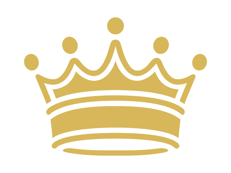 Crown clipart with transparent background.