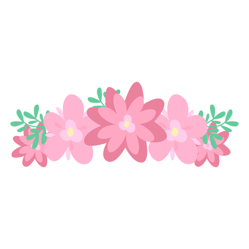 246 Flower Crown free clipart.