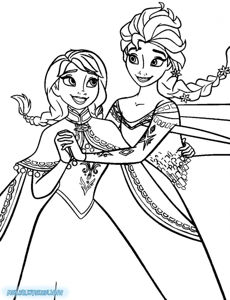 color pages ~ Coloring Pages Crowning Clipart Frozen Page.
