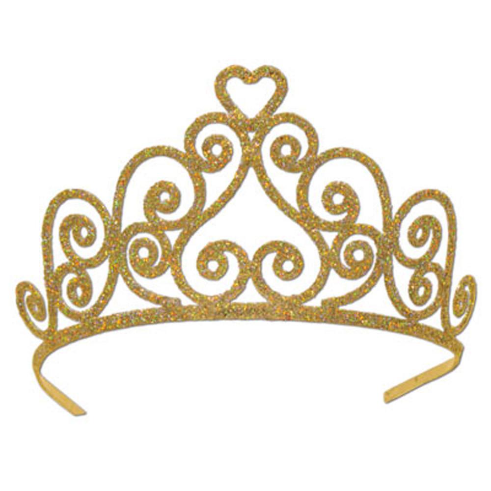 Tiara Clipart Gold.
