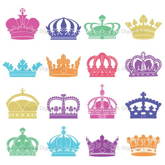 crown patterns for scrapbook.