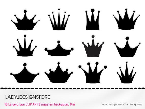 Crowns Clip Art.