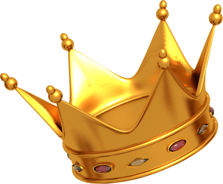 Crown transparent crown image with transparent background.