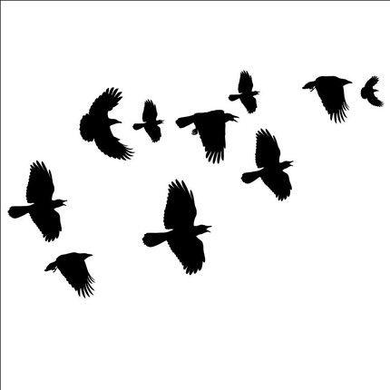 Crow Clipart.