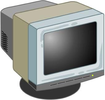 Monitor clipart.