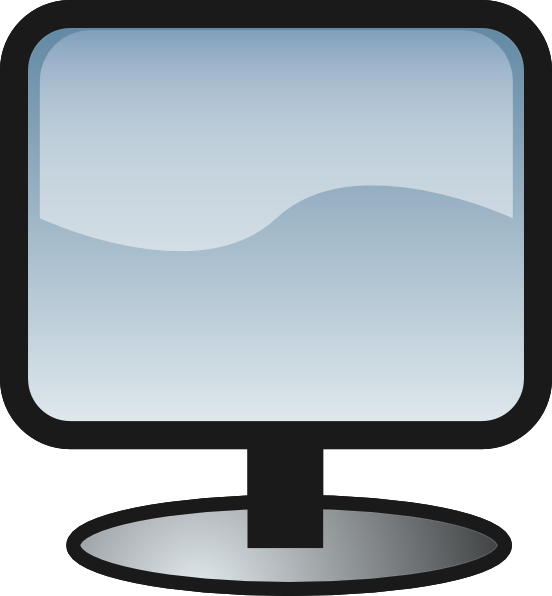 Free to Use & Public Domain Monitor Clip Art.