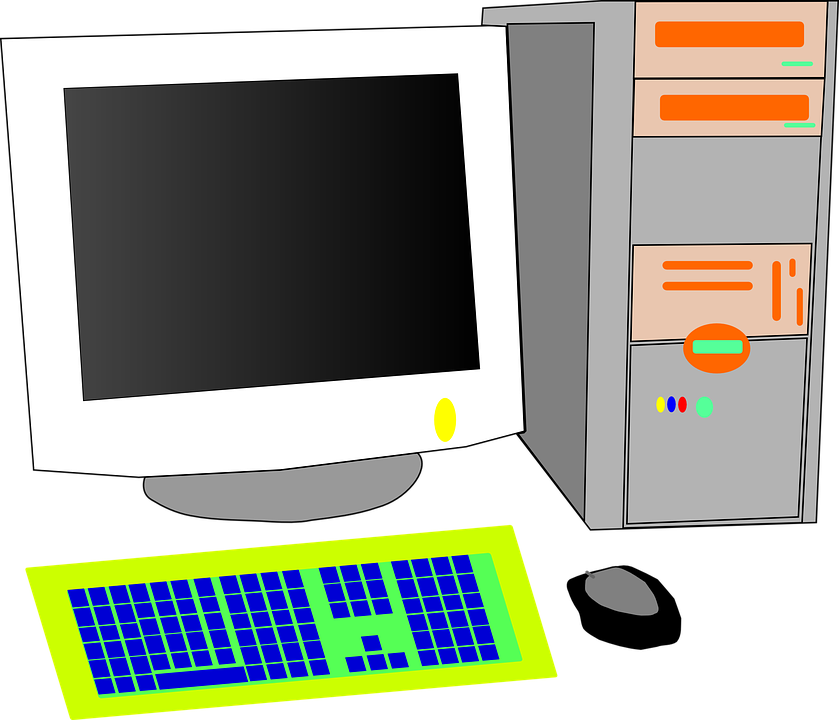 Free vector graphic: Crt, Monitor, Tower, Desktop.