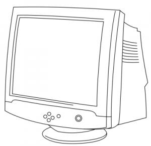 Crt Clip Art Download.