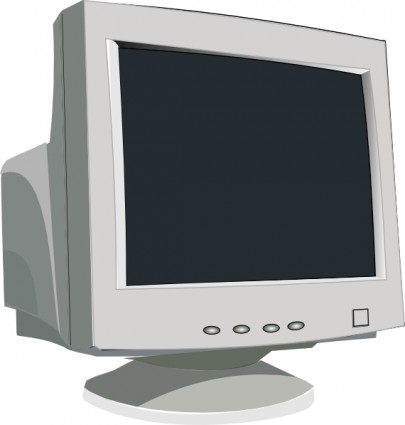 Crt Monitor Clipart.