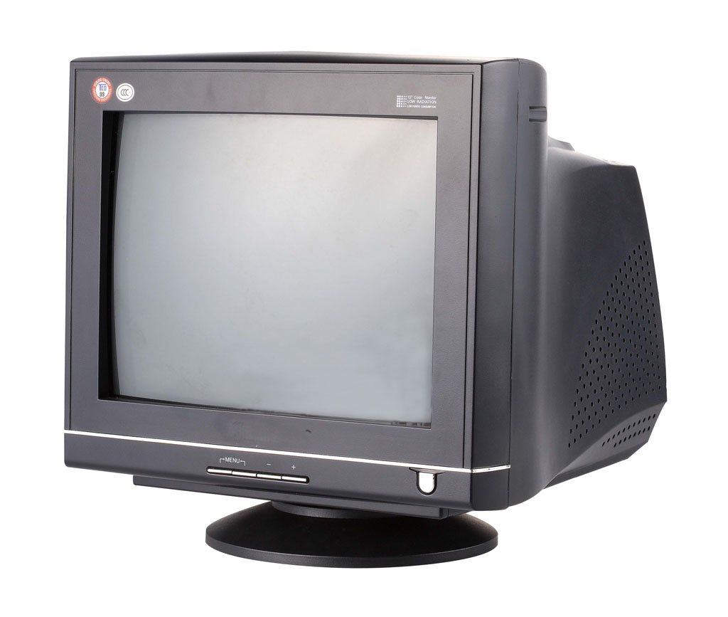 Crt monitor clipart #12