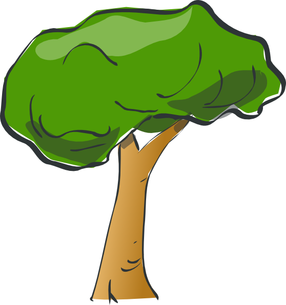 Tree Clip Art at Clker.com.