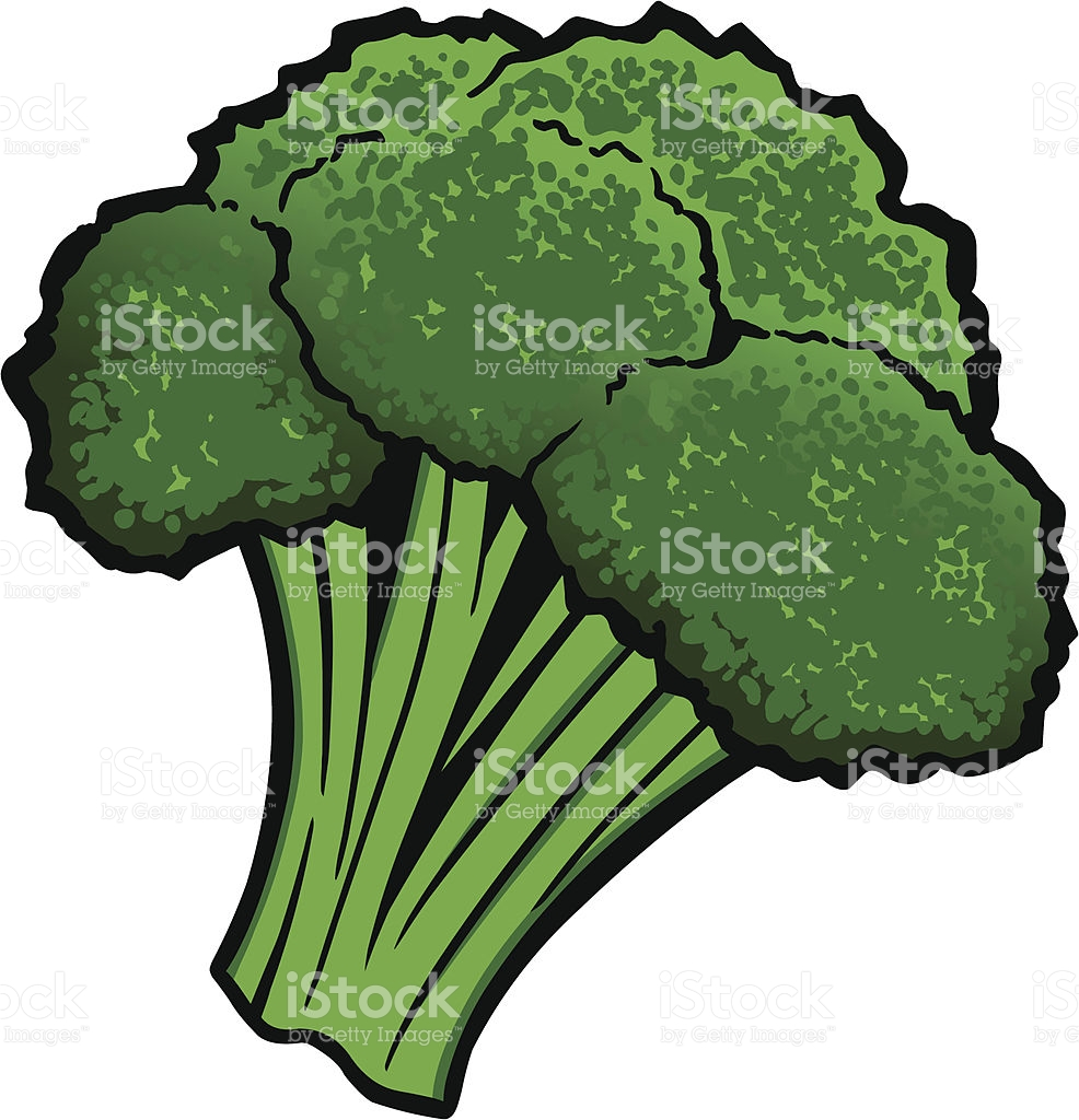 Broccoli Clip Art, Vector Images & Illustrations.