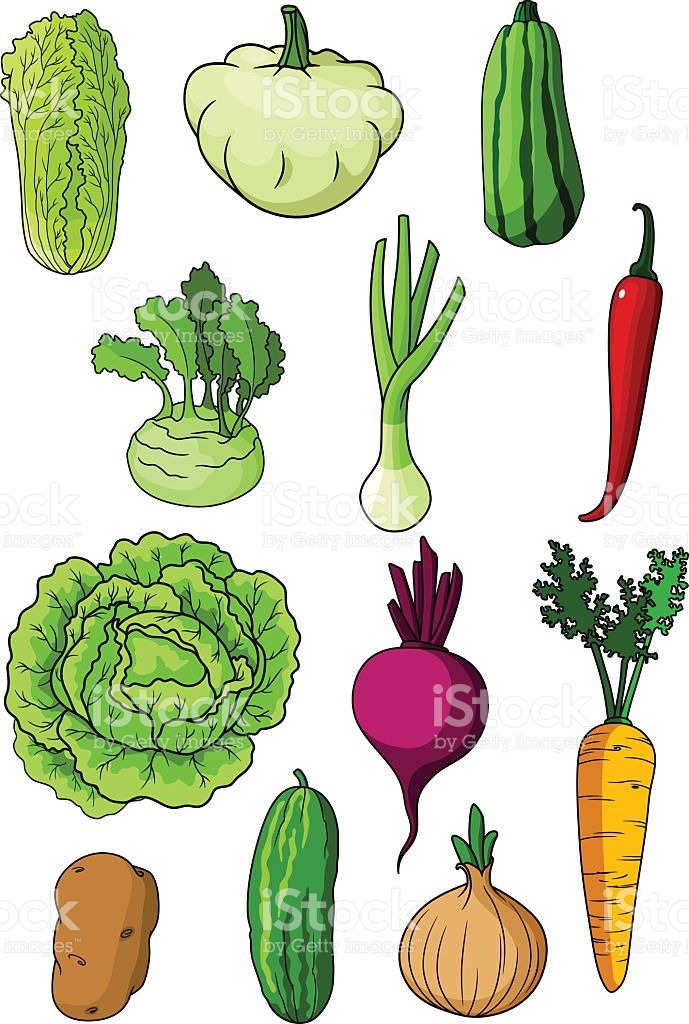 Cartoon Of A Turnip Greens Clip Art, Vector Images & Illustrations.