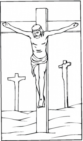 Free Jesus On The Cross Clipart.
