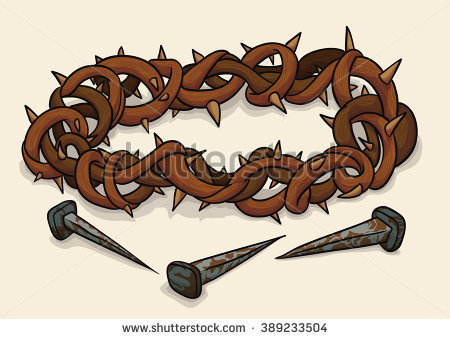 Crucifixion Stock Images, Royalty.