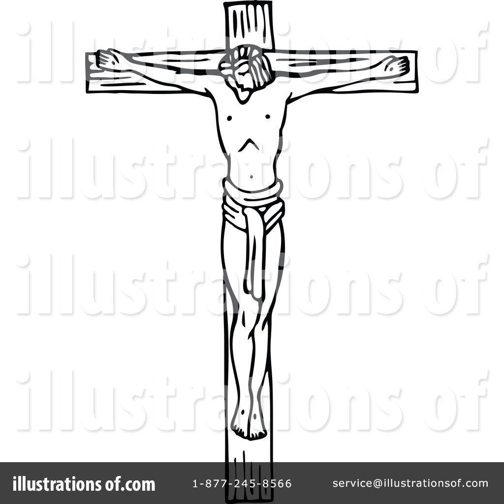 free crucified jesus clipart