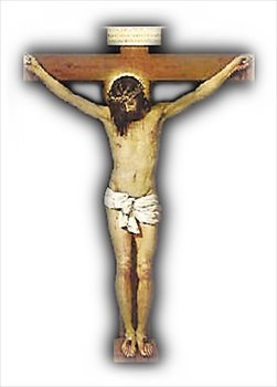 Clip Art Jesus Is Crucified.