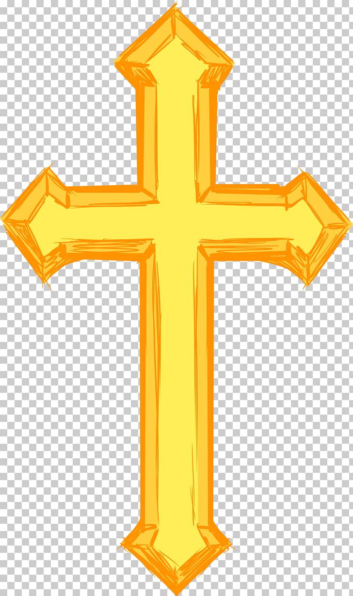Cruz cristiana símbolo crucifijo, cruz PNG Clipart.
